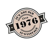 Non è vecchio intorno al 1976 ROSETTA Emblema PER CASCO DA MOTO AUTO ADESIVO VINILE