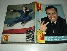 TV FRANCE 44 (2/2/63) GUY LUX FRANCOISE HARDY OLIVIER DESPAX HENRI SALVADOR