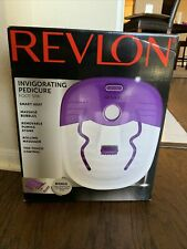Revlon Invigorating Pedicure Foot Spa Brand New Massager Rolling
