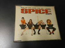Spice Girls – who do you think you are/mamma MAXI MUSICA CD POP