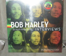 """Bob Marley """"So Much Things To Say: Interviews"""" COLORED  LP NEW RSD 2015"""
