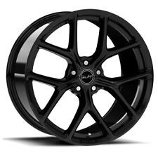 "Carroll Shelby CS3 Staggered 20"" Black Wheel SET (4 qty) 5 X 114.3"