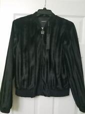 7e7e94a346a Elie Tahari Fax Fur Brandy Jacket Black Size Medium M Cnopf107