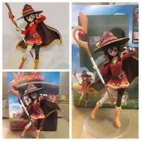 Anime Konosuba Megumin 20cm PVC Figure Model Toy New