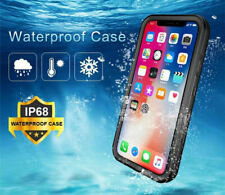 For iPhone XR Case Shockproof 360 Front & Back Cover Waterproof IP68 Underwater