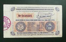 (RM) 1986  Lottery drawn in Kuala Kubu Baru