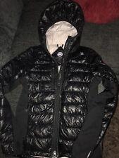 Genuine Canada Goose Hybridge Hood Jacket Black Size Small