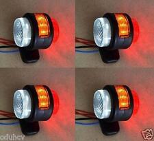 4x 11 LED Struttura Laterale 12V luci di ingombro per camion furgone