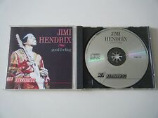 JIMI HENDRIX GOOD FEELING CD 13 RARE TRACKS COLLECTION OBJECT 1991