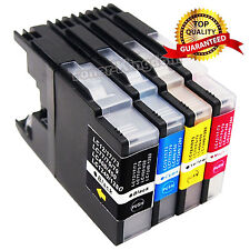 4 LC71 LC75 Ink Cartridges For Brother MFC-J430w MFC-J825DW MFC-J425W Combo Set