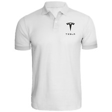 Tesla Motors Mens Embroidered Polo XS-6XL, LT-4XLT Model S, 3 NEW