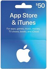 $50 Physical Apple Gift Card