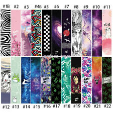 "Skateboard Longboard Board Grip Tape Sticker Diamond Sheet Griptape 47""X10"""