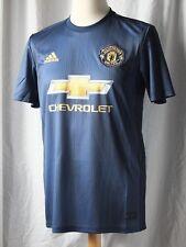 9cb0498ca19 New Genuine Adidas Manchester United 2018 19 3rd Away Shirt - Adults 4XL  XXXXL