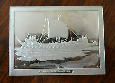 Franklin Mint Great Sailing Ships of History Sterling Ingot Warship Ramses III