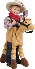 Horse Costume Cowboy Halloween Play Plush Soft Toy Stuffed Animal 3T to 5T