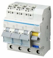 Fehlerstrom-Leitungsschutzschalter 3X 1P+N 6kA B-16A 30mA Typ A QuickConnect