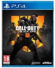 PS4 Call Of Duty Black Ops 4 NEW SEALED UK PAL Sony Playstation 4 2018 Game B