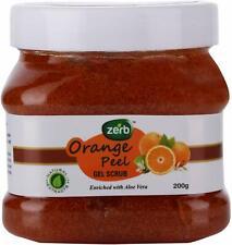Zerb Gentle Exfoliating Orange Peel Gel Scrub Healthy Skin Glow 200 G