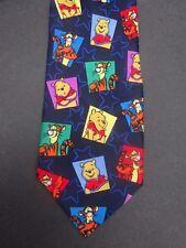 Men's Neck Tie Winnie the Pooh & Tigger Disney Blue