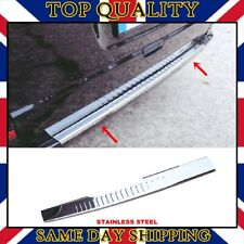 Chrome Rear Bumper Protector Trim Cover S.STEEL Mercedes W639 Viano 2003-2014