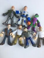 Imaginext Action Figure Lot of 7 Marvel Green Goblin Fisher Price Astronaut