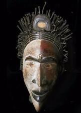 Pendientes tribales Bakongo Nail Fetiche Máscara -- Congo BN 40