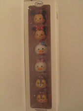 Ensemble de 6 décorations Disney - TSUM TSUM  - Neuf -