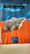 Animal Logic  Stewart Copeland Stanley Clarke promotional store poster PBX12