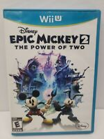 Epic Mickey 2: The Power of Two (Nintendo Wii U, WiiU)Complete Tested Canadian