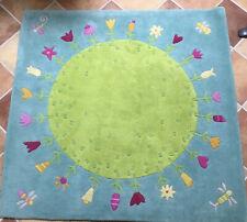 HABA Teppich Blumenplanet 150 * 150 cm Kinderteppich