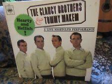 "Clancy Brothers & Tommy Makem, ""Hearty and Hellish"" (UK Vinyl LP-CBS BPG 62020)"