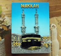 MAKKAH, Saudi Arabia Tourist Travel Souvenir 3D Resin Fridge Magnet Craft GIFT