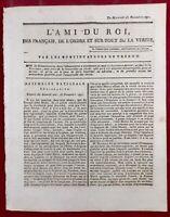 Montreuil en 1791 Bordeaux Haïti Pontarlier Vaucluse Worms L'ami du Roi Avignon