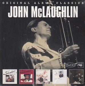 John McLaughlin /Shakti, A Handful of..., Natural…, Electric ... (5 CDs,OVP)