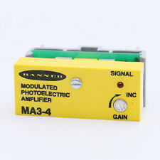 Banner Engineering MA3-4 Modulated Photoelectric Amplifier