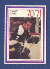 #7 DANNY O'SHEA 70/71 Esso NHL Power Player Minnesota North Stars