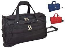 Wheeled Holdall Lightweight Travel Duffle Cabin Trolley Hand Luggage Sports Bag