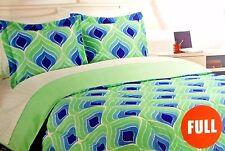 College Dorm Kit 15pc Full Comforter Bedding Storage Bath Towels Hangers More
