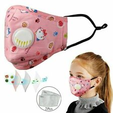 4Pack KIds Face Mask Kids Toddler Reusable Washable Cover Breathable Protection