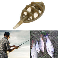 4 30g Inline Method Feeders Flat Swim Feeders Carp Fishing Tackle BarbelOut P1E5