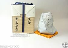 o5849,Japanese,HAGI, KANETA MASANAO, a Hollowed-flower vase.
