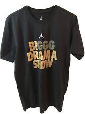 Jordan x Ggg Biggg Drama Show Black Og Shirt Aq8820 010 Nwt Sz M