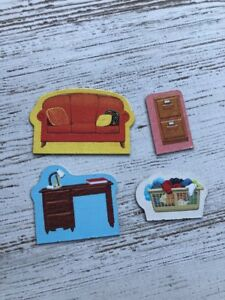 1998 Clue Jr The Case of the Hidden Toys Replacement Pieces Super
