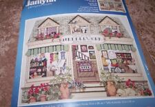 Janlynn Cross Stitch Kit Needlework Shoppe 14ct Aida 11 X 14 Finished