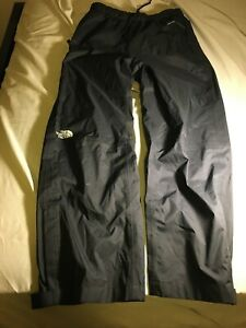 Preowned The North Face Dryvent Black Ski Snowboard Pants Youth Large 14 16