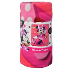 "Minnie Mouse ""Unstoppable"" 45x60 Fleece Throw Blankets"