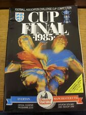 18/05/1985 FA Cup Final: Everton v Manchester United  (Creased). Thanks for view