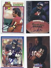 Darnell Autry Signed / Autographed Football Card Chicago Bears 1997 Scoreboard