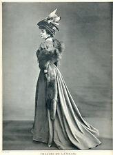 """Renée Félyne dans le rôle de Mademoiselle Jeanne """"L'age d'aimer"""" 1905"""